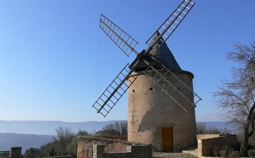 Brève histoire de l'énergie en Luberon